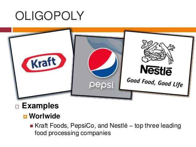 Examples of Oligopoly