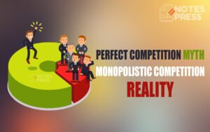 Perfect competition is a myth but monopolistic competition is reality