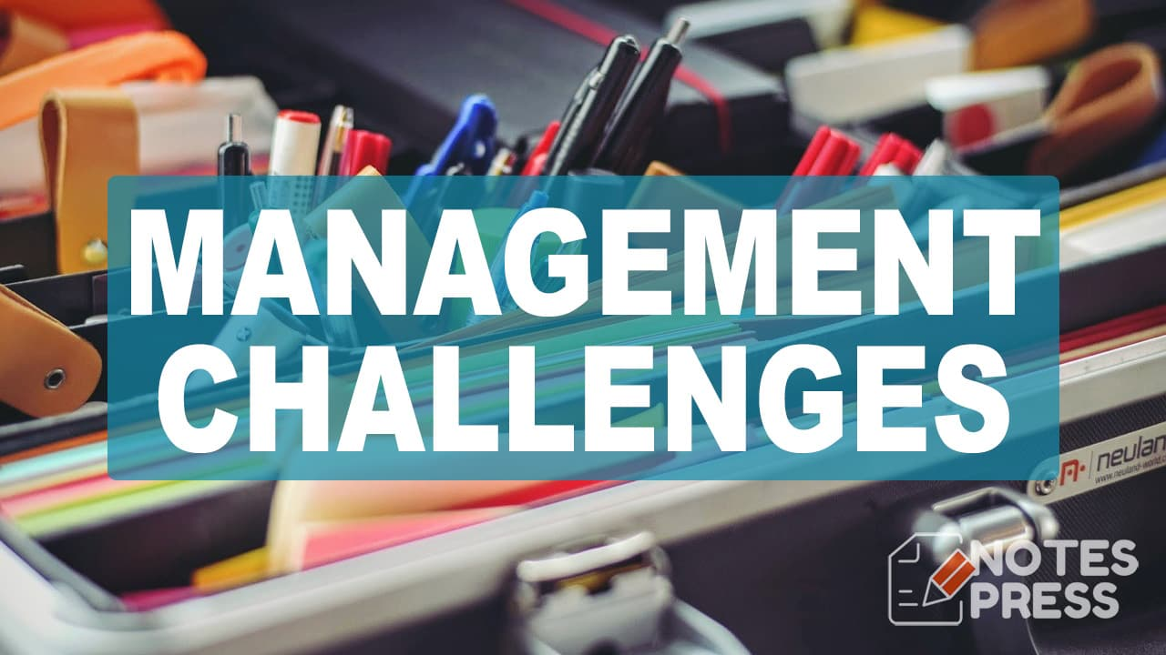 Emerging Challenges For Management - Principles of Management