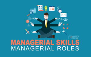 Managerial Skills & Managerial Roles - Types and Examples
