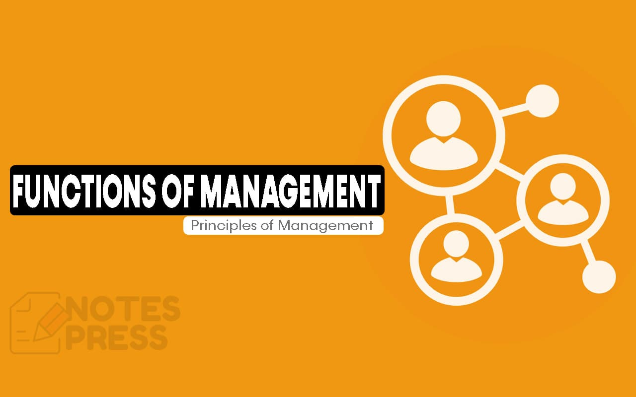 Process and Functions of Management
